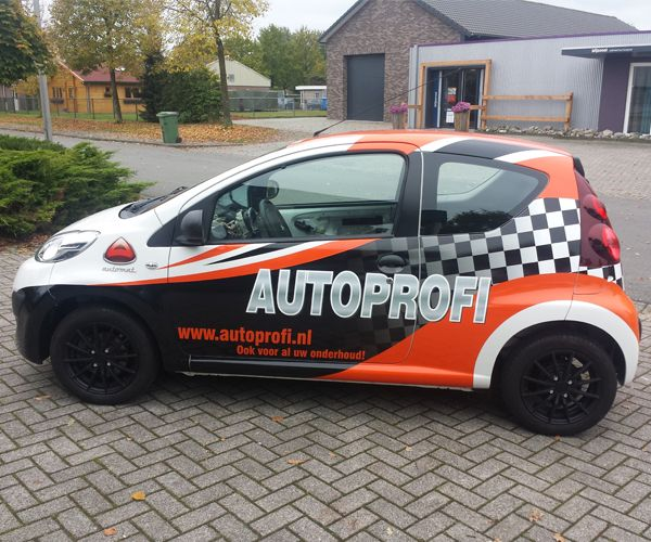 Auto belettering BRS Reclame