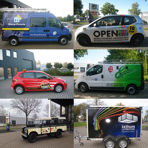 Auto belettering - BRS Reclame