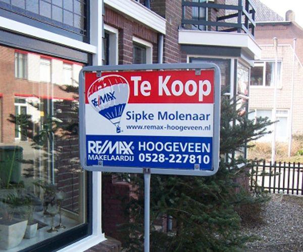 Makelaarsborden - BRS Reclame Hoogeveen