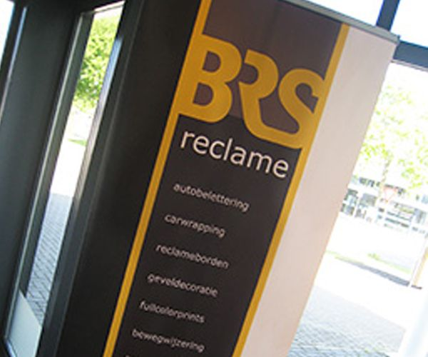Banners gemaakt door BRS Reclame
